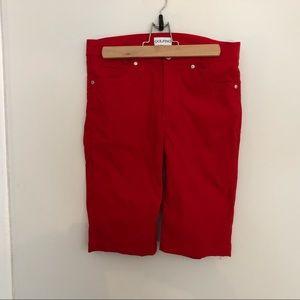Golfino women's golf shorts.  Size 6